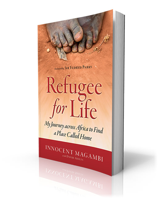Refugee for Life Book by Innocent Magambi