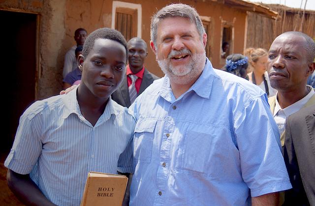 IAFR Tim Barns in Dzaleka Camp