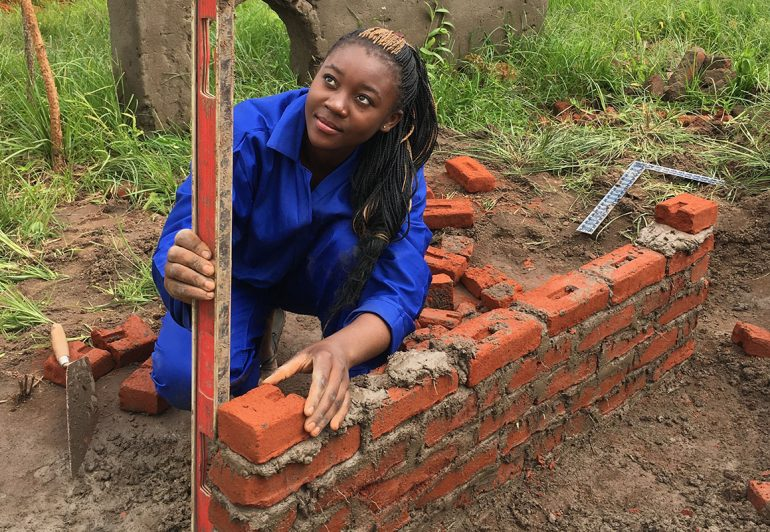 There is Hope-Vocational Training-Bricklaying